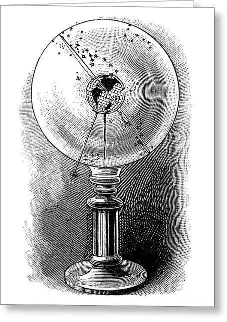 Geodoscope, 19th Century Greeting Card by
