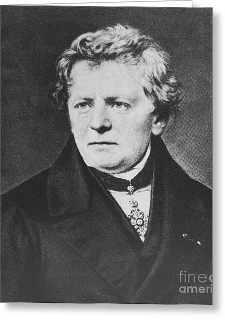 Georg Ohm, German Physicist Greeting Card by Science Source