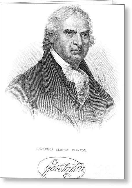 George Clinton (1739-1812) Greeting Card by Granger