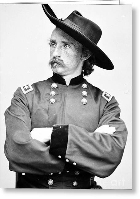George Custer, American Calvary Officer Greeting Card