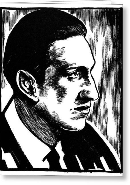 George Gershwin Greeting Card by Granger