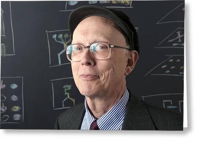 George M. Whitesides, American Chemist Greeting Card