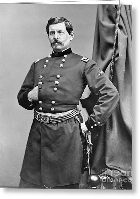 George Mcclellan (1826-1885) Greeting Card