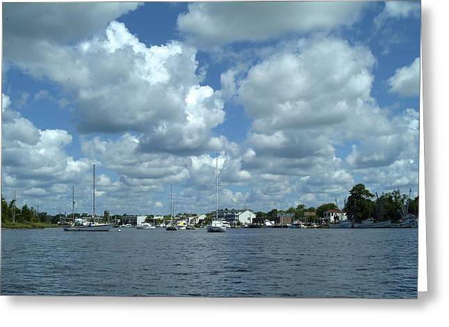Greeting Card featuring the photograph Georgetown Harbor by Ralph Jones
