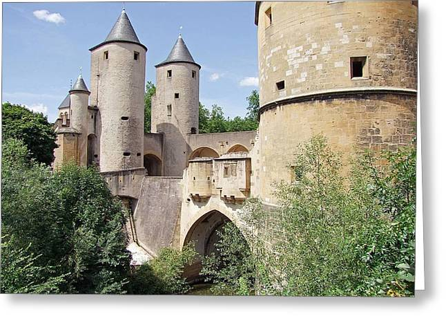 Germans Gate Metz France Greeting Card by Joseph Hendrix