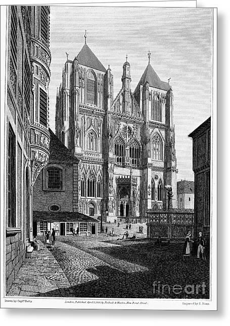 Germany: Regensburg, 1823 Greeting Card by Granger