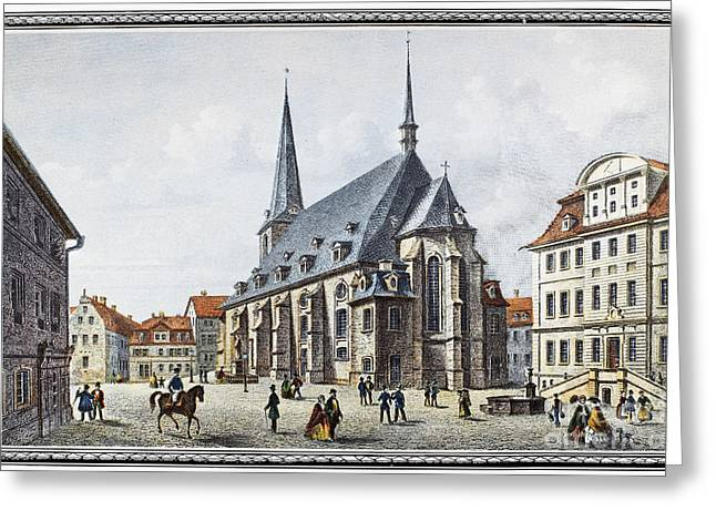 Germany: Weimar Greeting Card