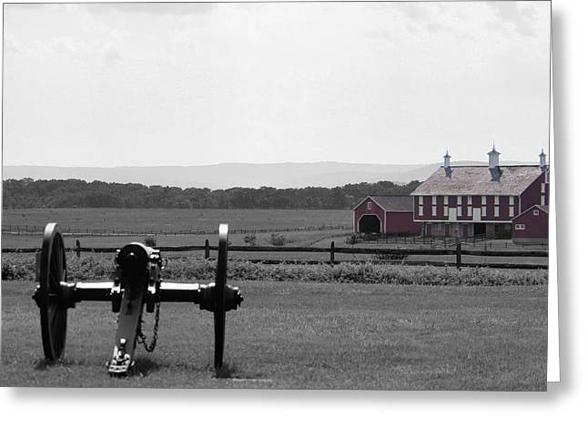 Gettysburg Greeting Card by Justin Mac Intyre