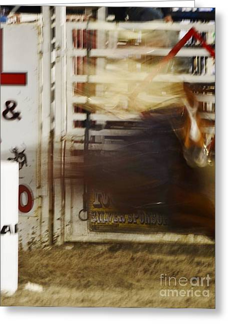 Ghost Racer Greeting Card