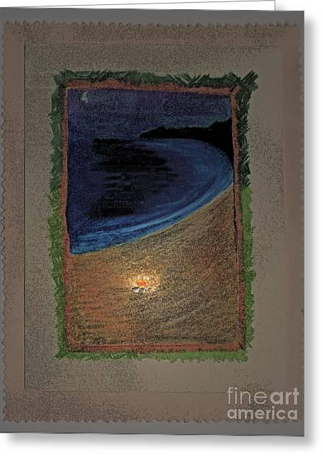 Ghost Stories Barra De Navidad Greeting Card by First Star Art