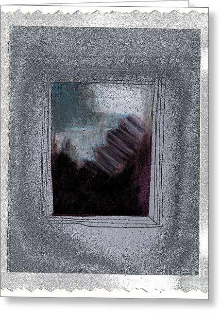 Ghost Stories The Argument Greeting Card by First Star Art