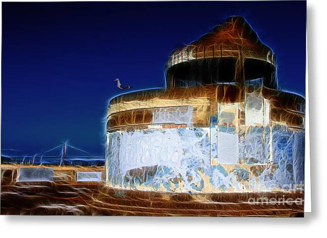 Ghosts In The Bay . 7d14028 Greeting Card by Wingsdomain Art and Photography