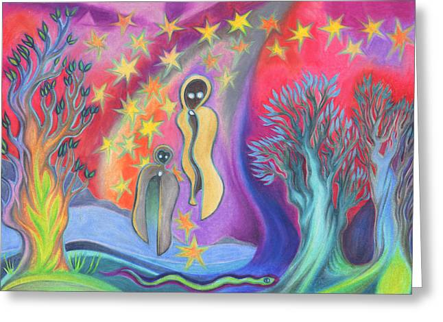Ghosts To Visit Greeting Card by James Davidson