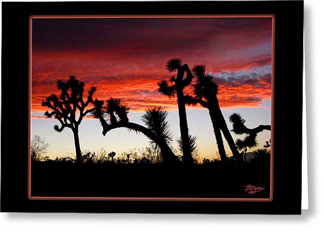 Giants Of Joshua Tree Ca Greeting Card