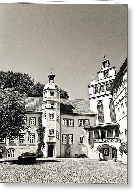 Gifhorn Castle Greeting Card by Benjamin Matthijs