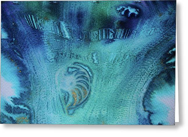 Greeting Card featuring the painting Gift From The Sea by Mary Sullivan