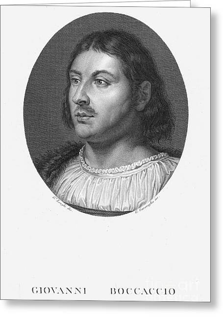 Giovanni Boccaccio Greeting Card by Granger