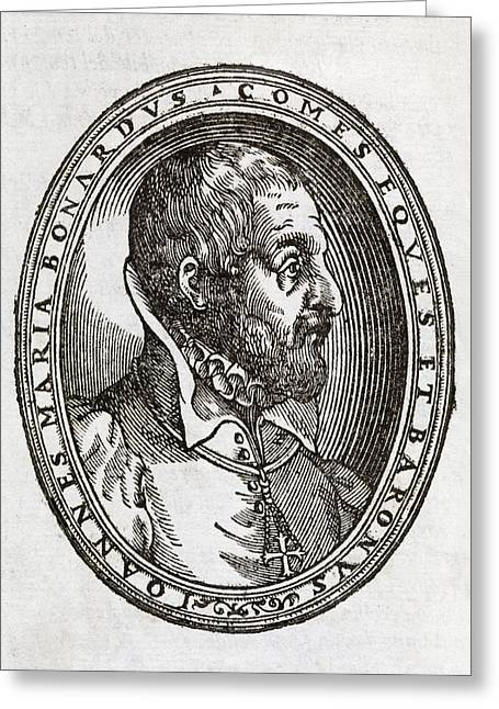 Giovanni Bonardo, Italian Author Greeting Card