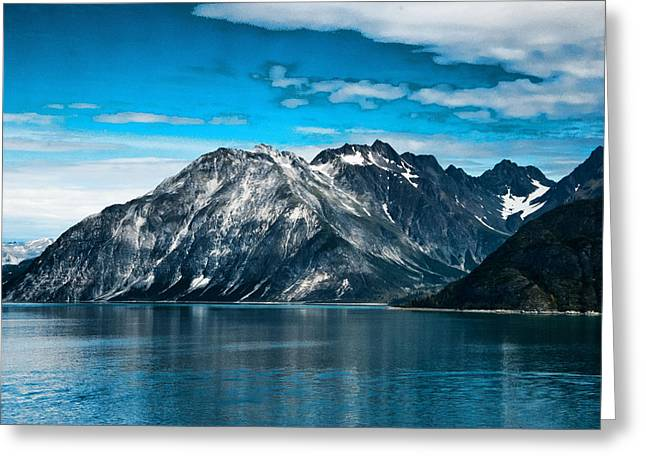 Glacier Bay Alaska Greeting Card by Jon Berghoff