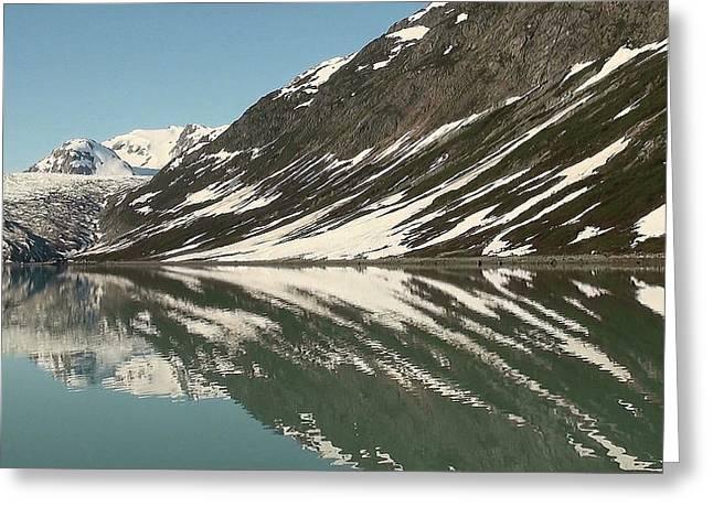 Glacier Receeding Greeting Card