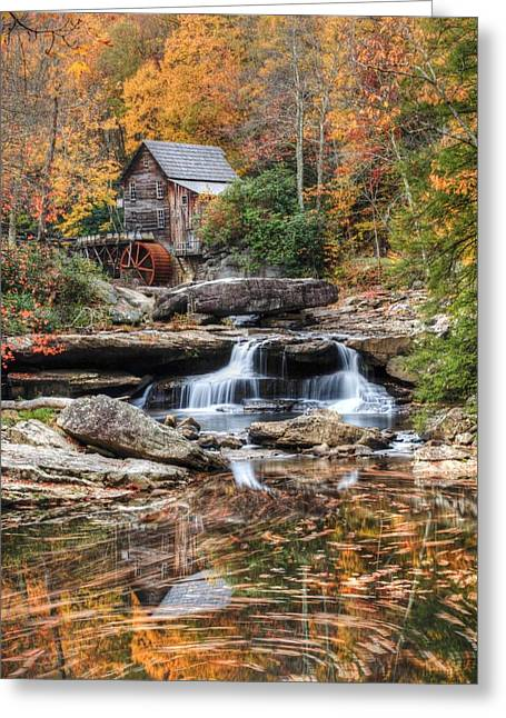 Glades Creek Mill Greeting Card by Doug McPherson