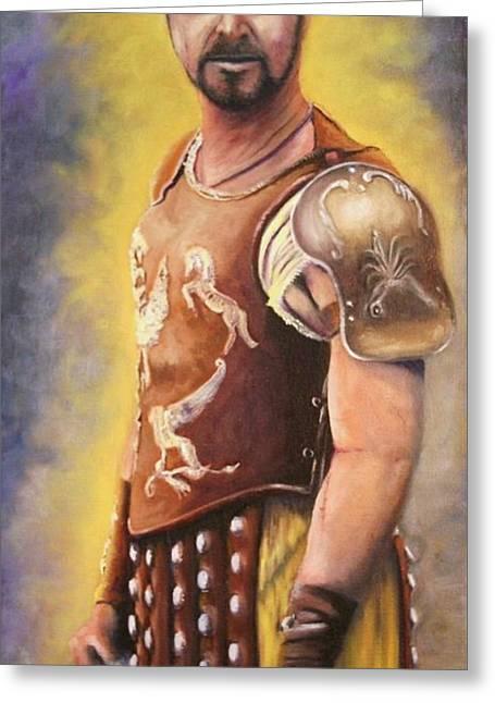 Gladiator  Greeting Card