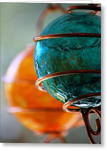 Glass 7 Greeting Card by Eamon Forslund