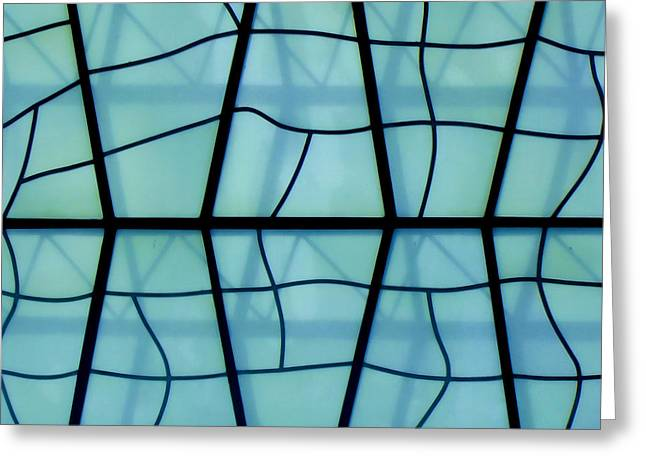 Glass And Shadows Greeting Card by Roberto Alamino