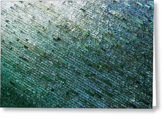 Glass Strata Greeting Card