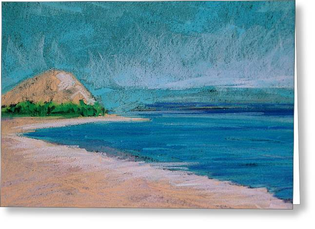 Glen Arbor Beach Greeting Card by Lisa Dionne