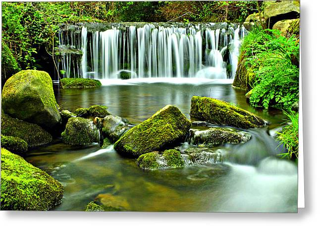 Glen Falls Greeting Card