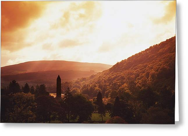 Glendalough, County Wicklow, Ireland Greeting Card by The Irish Image Collection