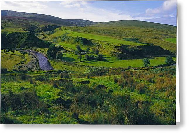 Glenelly Valley, Sperrin Mountains, Co Greeting Card