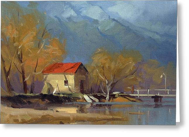 Glenorchy Greeting Card by Richard Robinson