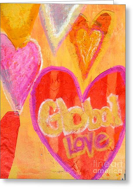 Global Love Greeting Card