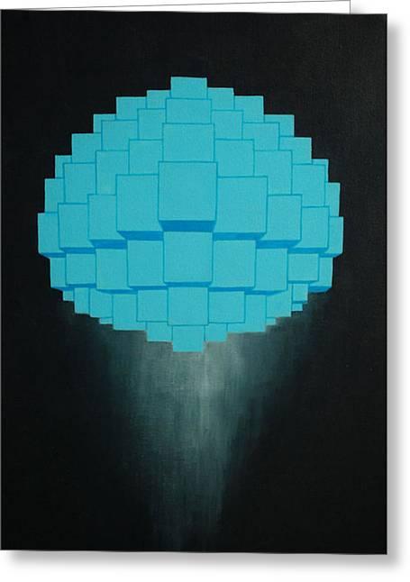 Globule Greeting Card by Michael Mizenko