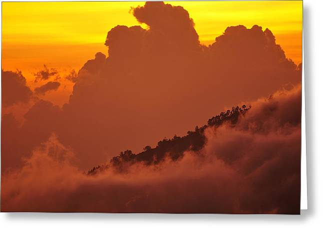 Glorious Sunrise Greeting Card by Sebastien Coursol