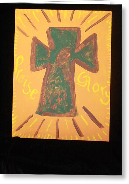 Glory Greeting Card by Deborah Minch