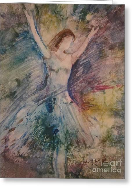 Glory Greeting Card by Deborah Nell