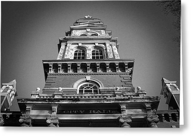 Gloucester City Hall Greeting Card by Matthew Green
