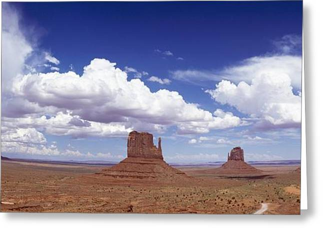 Glove Buttes And Clouds Greeting Card by Axiom Photographic