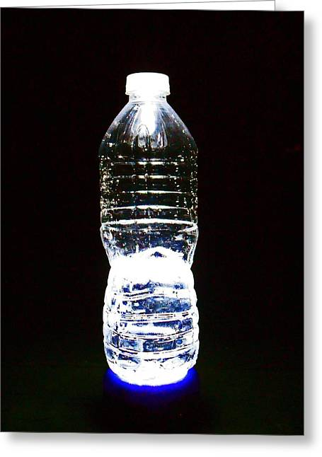 Glowing Thirst 1 Greeting Card