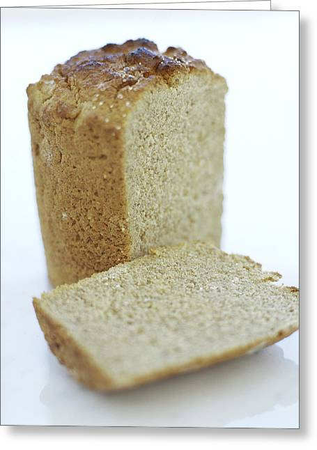Gluten-free Bread Greeting Card by David Munns