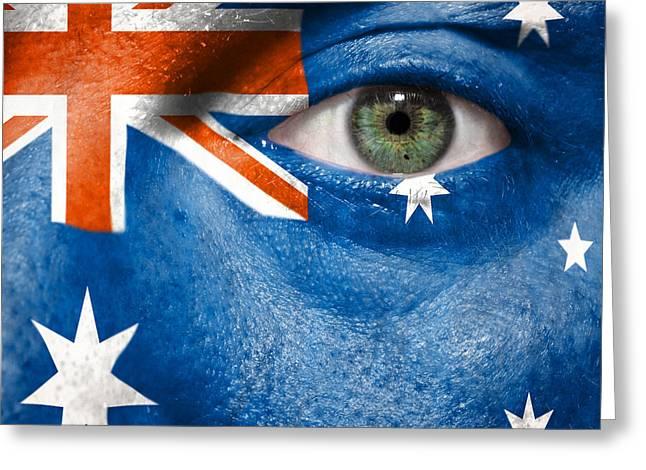 Go Australia Greeting Card by Semmick Photo