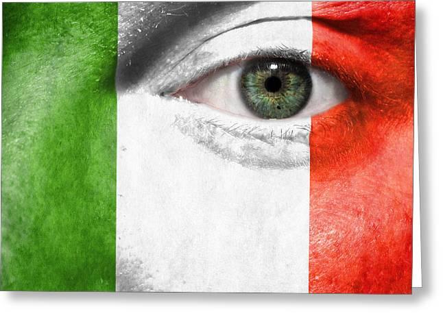 Go Italy Greeting Card