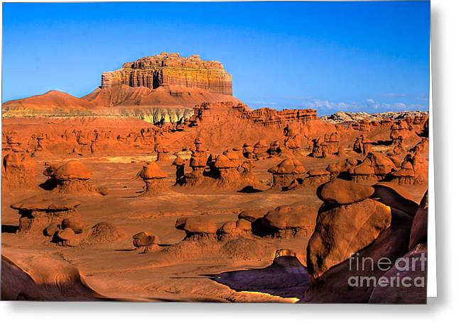 Goblin Valley State Park Greeting Card by Robert Bales