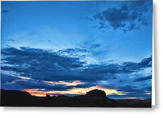 Goblin Valley Sunset Greeting Card by Gregory Scott