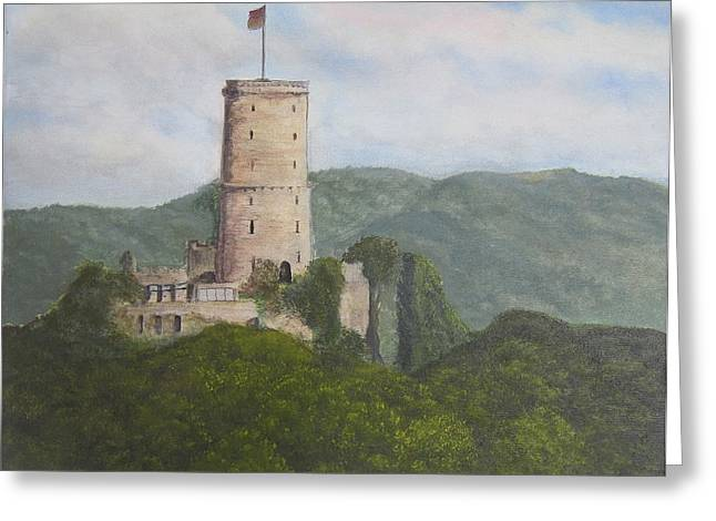 Godesburg Castle Greeting Card by Heather Matthews