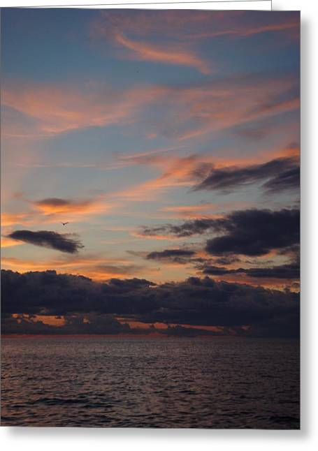 God's Evening Painting Greeting Card