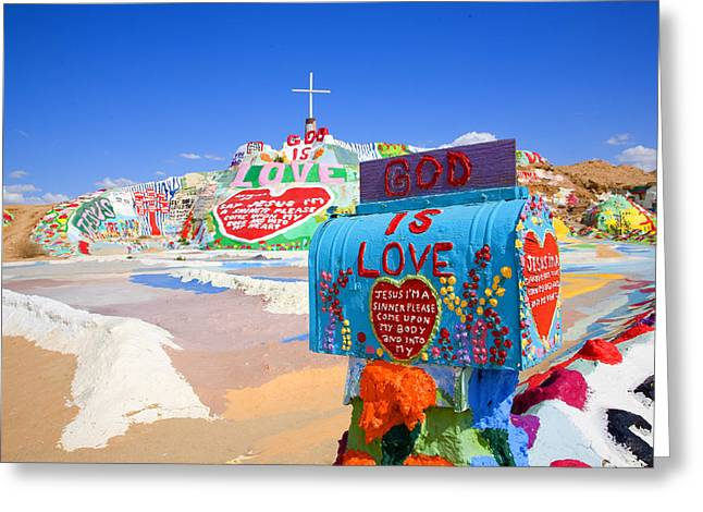 Greeting Card featuring the photograph God's Mailbox by Hugh Smith